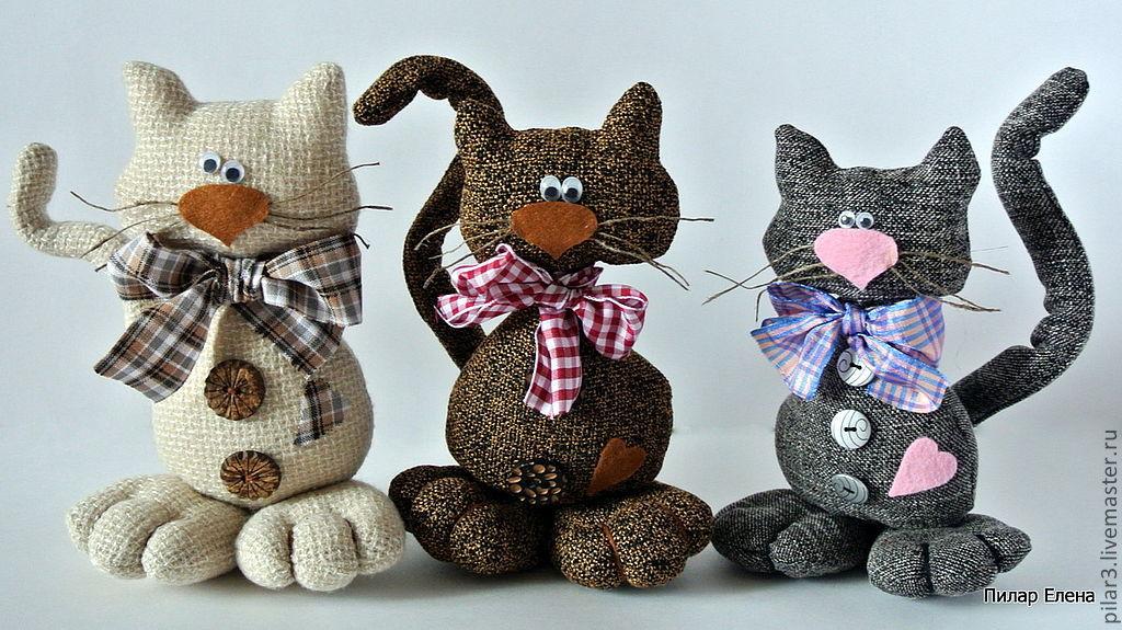 Котики из ткани своими руками фото - Naturapura.ru