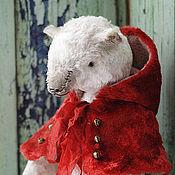 """Куклы и игрушки ручной работы. Ярмарка Мастеров - ручная работа Мишка """"Красный кардинал"""". Handmade."""
