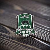 Украшения handmade. Livemaster - original item Wooden icon FC Krasnodar. Handmade.