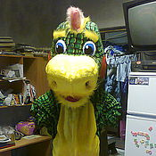 Куклы и игрушки handmade. Livemaster - original item Dragon.Mascot advertising doll.. Handmade.