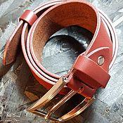 Ремни ручной работы. Ярмарка Мастеров - ручная работа Ремни: Ремни: кожаный ремень. Handmade.