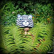 Работы для детей, ручной работы. Ярмарка Мастеров - ручная работа Шапочка Белый Тигрёнок. Handmade.