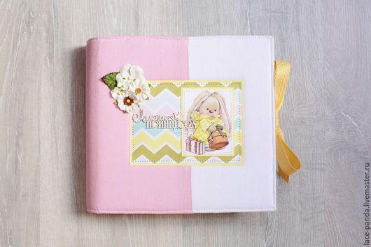Подарки для новорожденных, ручной работы. Ярмарка Мастеров - ручная работа. Купить Альбом для девочки. Handmade. Разноцветный, подарок на рождение