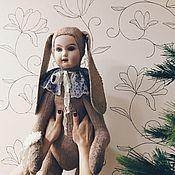 Куклы и игрушки handmade. Livemaster - original item Teddy-doll vintage Bunny. Handmade.