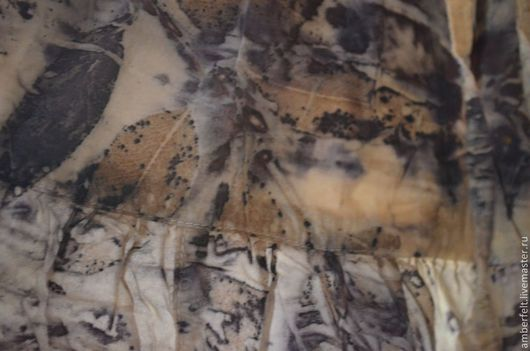 Юбки ручной работы. Ярмарка Мастеров - ручная работа. Купить Юбочка в эко стиле.. Handmade. Абстрактный, природные материалы, бохо