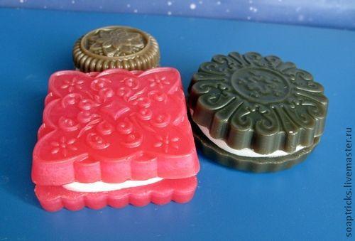 Подарочные наборы косметики ручной работы. Ярмарка Мастеров - ручная работа. Купить Мыльный набор Печенье. Handmade. Печенье