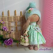 Куклы и игрушки ручной работы. Ярмарка Мастеров - ручная работа Интерьерная куколка Аленка. Handmade.