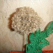 Подарки к праздникам ручной работы. Ярмарка Мастеров - ручная работа одуванчик из шпагата джутового. Handmade.