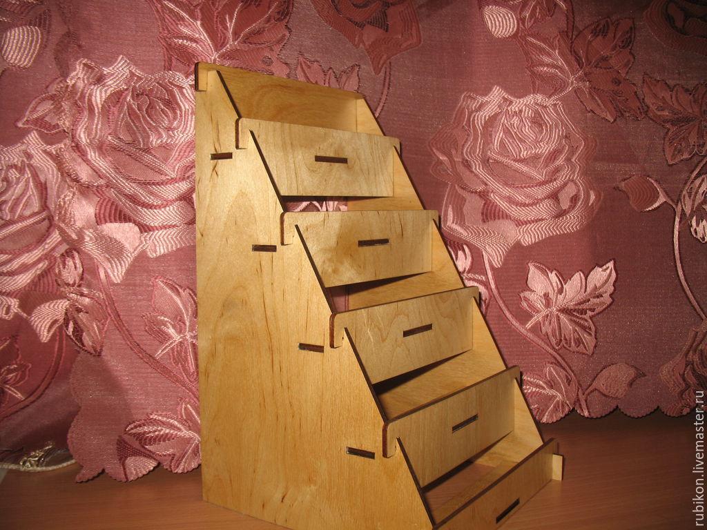 Картинки, стойка для открыток деревянная