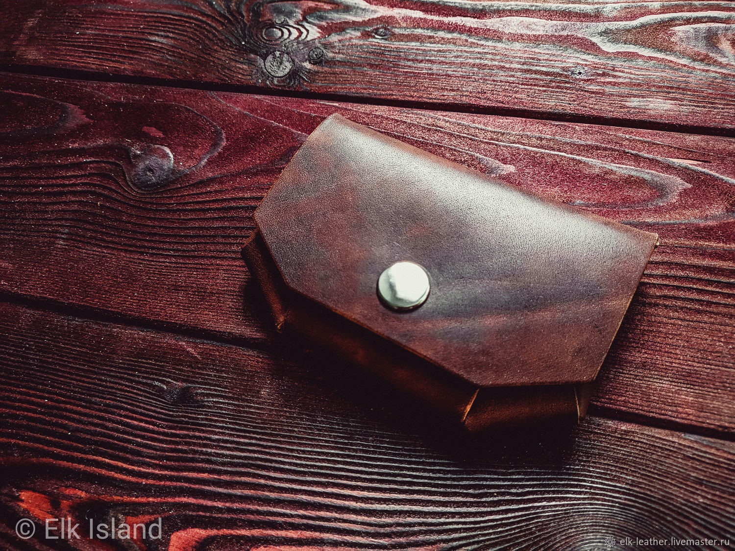 Cardholder on a button, without seams, origami, Business card holders, Moscow,  Фото №1