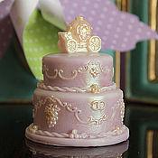 """Свадебный салон ручной работы. Ярмарка Мастеров - ручная работа Мыло """"Свадебный тортик"""". Handmade."""
