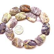 Материалы для творчества ручной работы. Ярмарка Мастеров - ручная работа Аметистовый кварц 14 камней набор сиреневый крупные  бусины. Handmade.