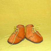 Куклы и игрушки ручной работы. Ярмарка Мастеров - ручная работа Рыжие ботинки.. Handmade.
