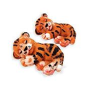 Косметика ручной работы handmade. Livemaster - original item Tiger soap is a symbol of the New Year 2022 handmade as a gift to order. Handmade.
