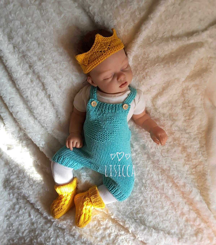 For Newborns handmade. Livemaster - handmade. Buy Knitted set for newborn little Prince.Knitting, knitting to order