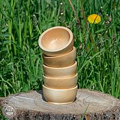 Для дома и интерьера ручной работы. Ярмарка Мастеров - ручная работа Чаши из сибирского кедра  набор 5 шт. Для пищевых продуктов и пр TN16. Handmade.