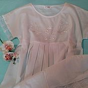 Одежда handmade. Livemaster - original item Babydoll with Royal monogram.. Handmade.