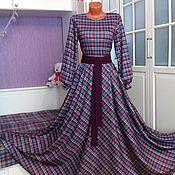 Одежда ручной работы. Ярмарка Мастеров - ручная работа Трикотажное платье макси Эвелин. Handmade.