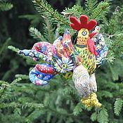 Подарки к праздникам ручной работы. Ярмарка Мастеров - ручная работа Петух - символ 2017 года. Handmade.