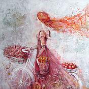Картины и панно ручной работы. Ярмарка Мастеров - ручная работа В осень.... Handmade.