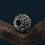 """Украшения handmade. Livemaster - original item Silver bead """"Mermaid`s laught"""". Handmade."""