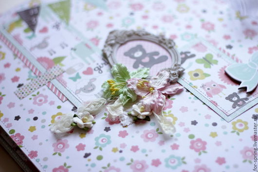 Подарки для новорожденных, ручной работы. Ярмарка Мастеров - ручная работа. Купить Нежный фотоальбом для маленькой девочки. Handmade. принцесса