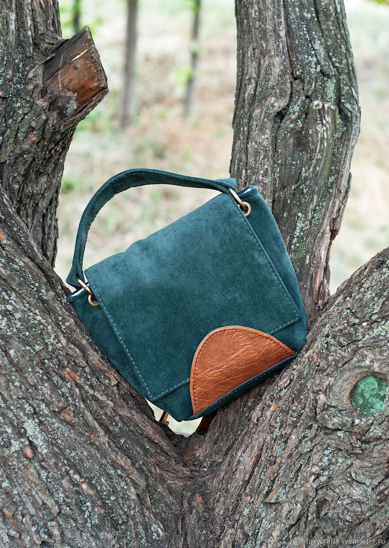 Текстильная сумка UNA moss, Классическая сумка, Москва,  Фото №1