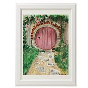 Картины и панно handmade. Livemaster - original item Painting watercolor Hobbit hole. Handmade.