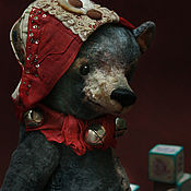 Куклы и игрушки ручной работы. Ярмарка Мастеров - ручная работа Новогодний мишка.. Handmade.