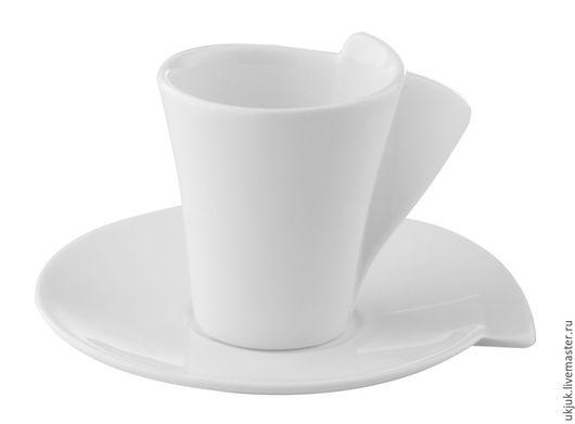 Кружки и чашки ручной работы. Ярмарка Мастеров - ручная работа. Купить Каприз. Handmade. Белый, фарфоровая тарелка
