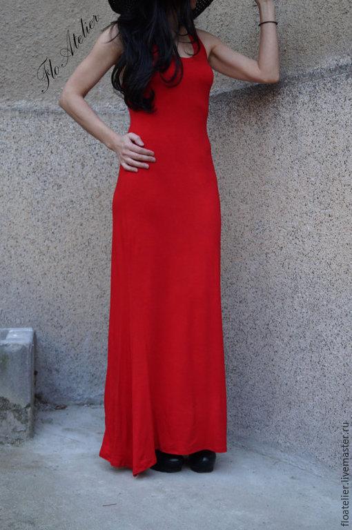Платья ручной работы. Ярмарка Мастеров - ручная работа. Купить Летнее  платье Maxi/Элегантная вечерняя парти одежда /F1476. Handmade.