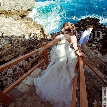 Свадебный салон ручной работы. Ярмарка Мастеров - ручная работа Свадебное платье Вельмира. Handmade.