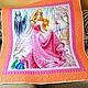 """Пледы и одеяла ручной работы. Ярмарка Мастеров - ручная работа. Купить Одеяло детское """"Принцесса""""  Для девочки. Handmade. Розовый"""