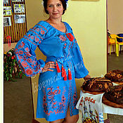 Одежда handmade. Livemaster - original item Dress Embroidery Boho. Handmade.