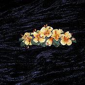 """Украшения ручной работы. Ярмарка Мастеров - ручная работа Заколки для волос """"Цветы"""". Handmade."""