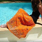 Одежда handmade. Livemaster - original item Summer skirts with sequins. Handmade.