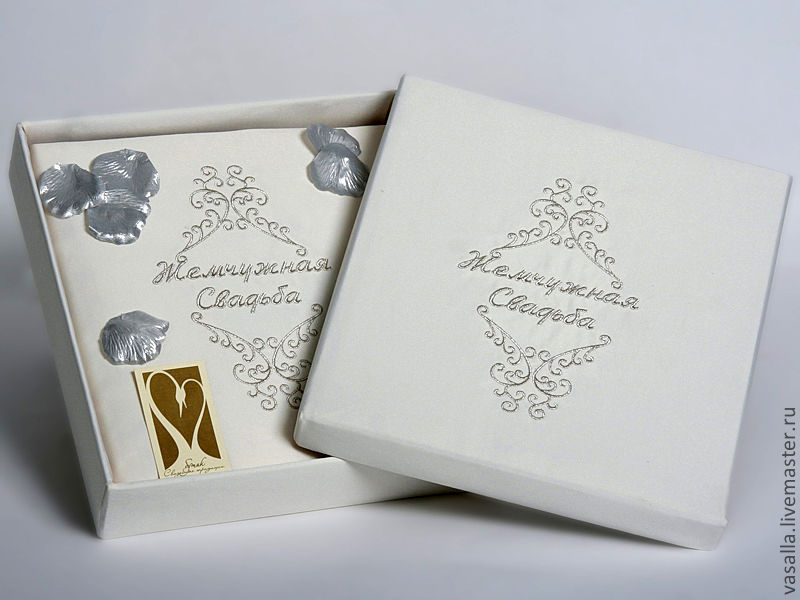 Gift For Pearl Wedding 30 Years Of Marriage Shop Online On