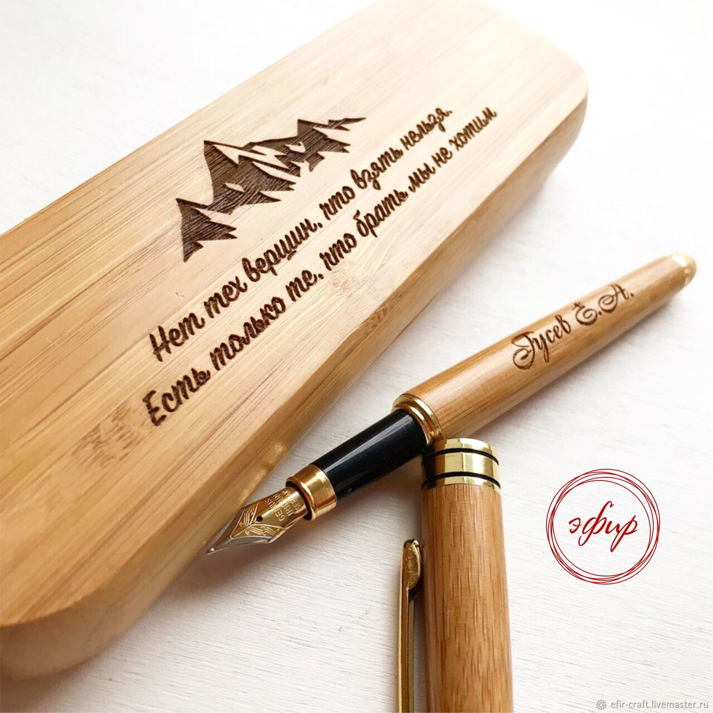 Именная ручка в футляре, Ручки, Евпатория,  Фото №1