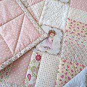 Работы для детей, handmade. Livemaster - original item The quilt for the newborn for discharge. Handmade.