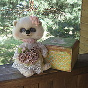 """Куклы и игрушки ручной работы. Ярмарка Мастеров - ручная работа Ежичка """"Дарья"""" Сухое валяние, авторская работа, ручная работа. Handmade."""