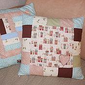 Для дома и интерьера ручной работы. Ярмарка Мастеров - ручная работа Комплект интерьерных подушек. Handmade.
