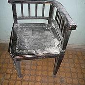 Винтаж ручной работы. Ярмарка Мастеров - ручная работа Реставрация старинного углового стула.. Handmade.