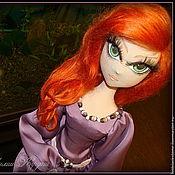 Куклы и игрушки ручной работы. Ярмарка Мастеров - ручная работа Пеппилотта стала взрослой.Текстильная кукла.. Handmade.