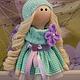Коллекционные куклы ручной работы. Текстильная куколка малышка Софи. Юлия Соколова. Ярмарка Мастеров. Кукла в подарок, хлопок