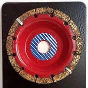 Материалы для творчества ручной работы. Ярмарка Мастеров - ручная работа Обдирочный диск нормал. Handmade.