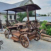 handmade. Livemaster - original item Garden gazebo decorative large cart. Handmade.