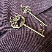 Материалы для творчества ручной работы. Ярмарка Мастеров - ручная работа Ключ винтажный. Handmade.
