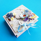 """Подарки к праздникам ручной работы. Ярмарка Мастеров - ручная работа """"С рождением сыночка"""", денежная коробочка в подарок.. Handmade."""