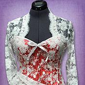 Свадебный салон ручной работы. Ярмарка Мастеров - ручная работа Элегантный свадебный комплект: корсет, юбка, балеро. Handmade.