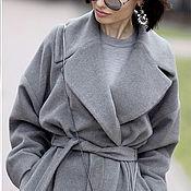 Пальто ручной работы. Ярмарка Мастеров - ручная работа Кашемировое пальто. Handmade.